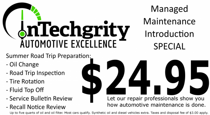 Managed Maintenance Introductory Special ($24.95)